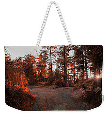 Choose The Road Less Travelled Weekender Tote Bag