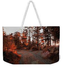 Choose The Road Less Travelled Weekender Tote Bag