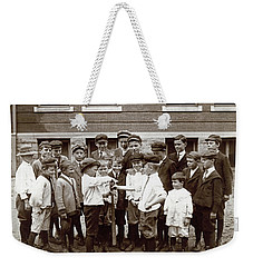 Choosing Baseball Teams Weekender Tote Bag
