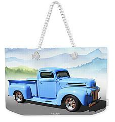 Chop Top Pickup Weekender Tote Bag