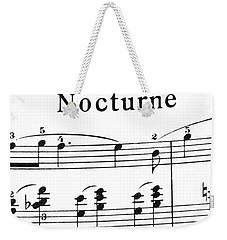 Chopin Nocturne Part 2 Weekender Tote Bag