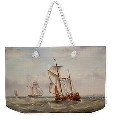 Choppy Waters Weekender Tote Bag