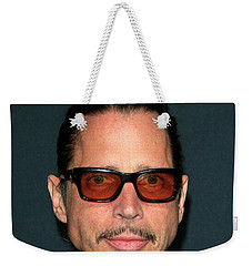 Chris Cornell Weekender Tote Bag by Nina Prommer