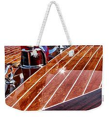 Chris Craft Bow - Painterly Weekender Tote Bag
