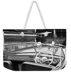 Chris Craft Utility Weekender Tote Bag