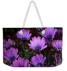 Weekender Tote Bag featuring the digital art Morning Stretch by Stuart Turnbull