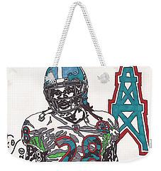 Chris Johnson  Weekender Tote Bag