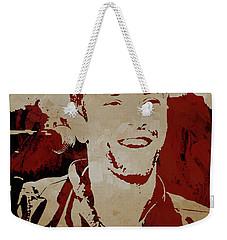 Chris Martin Coldplay Weekender Tote Bag