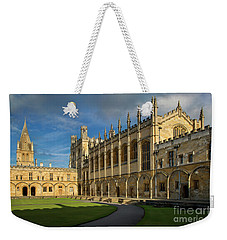Weekender Tote Bag featuring the photograph Christ Church College II by Brian Jannsen