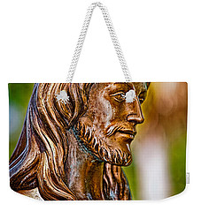 Christ In Bronze Weekender Tote Bag