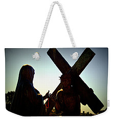 Christ Meets His Mother Weekender Tote Bag by Nature Macabre Photography