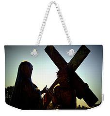 Christ Meets His Mother Weekender Tote Bag
