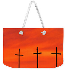 Christ Pilot Me Hill -02 Weekender Tote Bag by Rob Graham