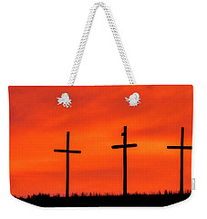 Christ Pilot Me Hill -03 Weekender Tote Bag by Rob Graham