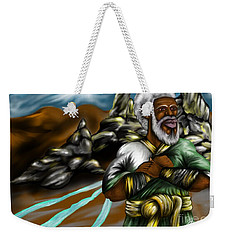 Christ The Messiah Our King Weekender Tote Bag
