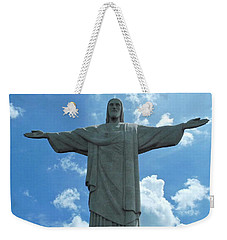 Christ The Redeemer Statue Weekender Tote Bag