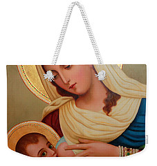 Christianity - Baby Jesus Weekender Tote Bag by Munir Alawi