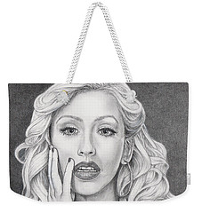 Christina Aguilera Weekender Tote Bag
