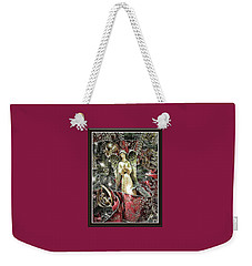 Christmas Angel Greeting Weekender Tote Bag