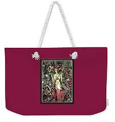 Christmas Angel Greeting Weekender Tote Bag