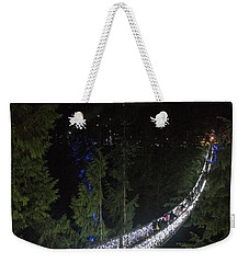 Christmas At Capilano Suspension Bridge Weekender Tote Bag