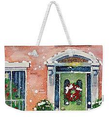 Christmas At The Rectory Weekender Tote Bag