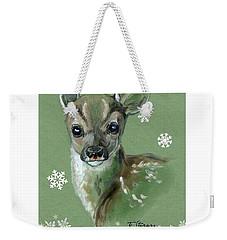 Christmas Baby Weekender Tote Bag