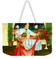 Christmas Ball Weekender Tote Bag