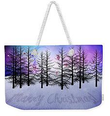 Christmas Bare Trees Weekender Tote Bag