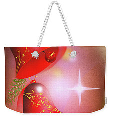 Christmas Bells Weekender Tote Bag