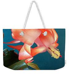 Christmas Cactus Weekender Tote Bag