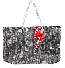 Weekender Tote Bag featuring the photograph Christmas Candy  by Ulrich Schade