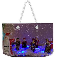 Christmas Card 2016 - 02 Weekender Tote Bag by Al Bourassa
