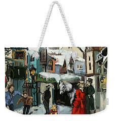 Christmas Carol 1 Weekender Tote Bag