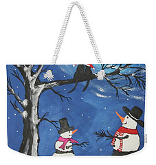 Christmas Cats In Love Weekender Tote Bag