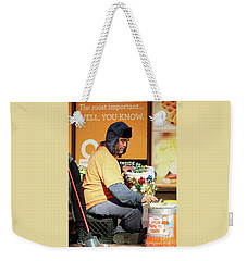 Weekender Tote Bag featuring the photograph Christmas Cheer by Joe Jake Pratt