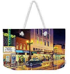 Christmas Corner Weekender Tote Bag