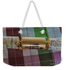Weekender Tote Bag featuring the photograph Christmas Cracker by Cassandra Buckley
