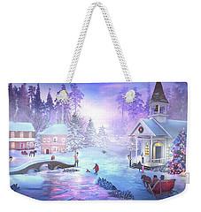 Christmas Creek Weekender Tote Bag