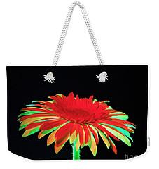 Christmas Daisy Weekender Tote Bag
