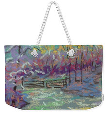Christmas Day Sketch Weekender Tote Bag by Rae  Smith PAC