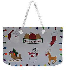 Christmas Dreams Weekender Tote Bag