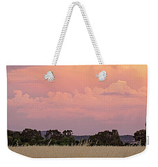 Weekender Tote Bag featuring the photograph Christmas Eve In Australia by Linda Lees