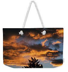 Christmas Eve Sunrise 2016 Weekender Tote Bag
