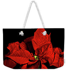Christmas Fire Weekender Tote Bag