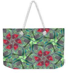 Christmas Flowers Weekender Tote Bag
