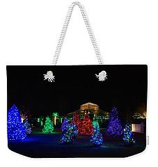 Christmas Garden 7 Weekender Tote Bag