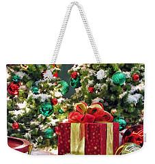 Christmas Gift Weekender Tote Bag by Christopher Arndt