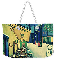 Christmas Homage To Vangogh Weekender Tote Bag