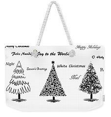 Christmas Illustration Weekender Tote Bag by Stephanie Frey
